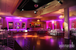 Yailiman and Eric Wedding Reception Grand Salon Reception Hall Grand Salon Ballroom Ciudara Killian Palms Country Club