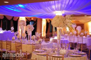 Fabiola and Alan Wedding Reception Grand Salon Ballroom at Killian Plams Country Club