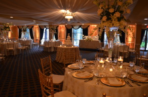 Killian Palms Country Club Grand Salon Ballroom Wedding Reception