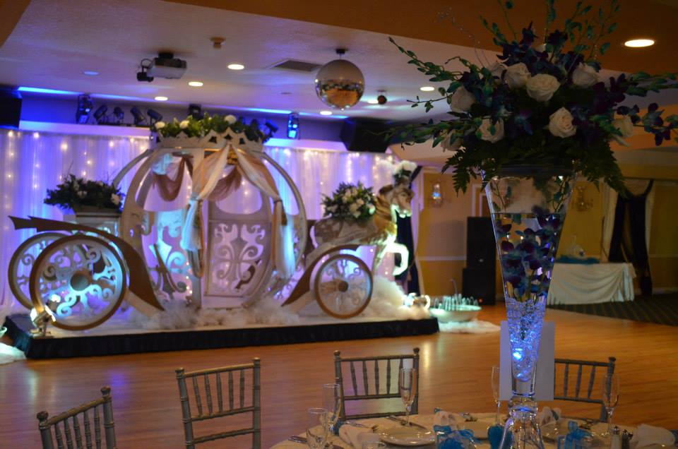 Grand Salon Ballroom At Killian Palms Country Club 15th Birthday Party 18