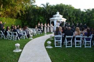 Ciudamar at Killian Plams Country Club- Wedding Reception- Gazebo Ceremony 2