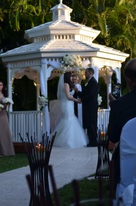 Gazebo Ceremony Wedding Reception Garnd Salon Reception Hall 30
