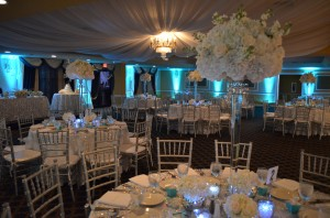 Grand Salon Ballroom at Killian Plams Country Club Gazebo Ceremony Wedding Reception (12)