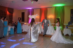 Yennis and Orlando Wedding Reception Gazebo Ceremony Fireworks Ciudamar at Killian Palms Country Club Grand Salon Ballroom grand Salon Receptio (40)