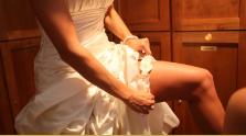 bridal garter for wedding