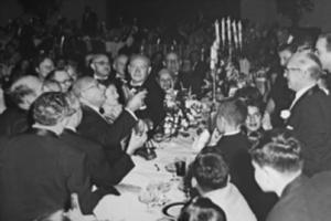 big banquet table