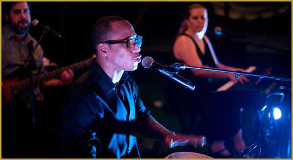 Miami Cuban band jamming