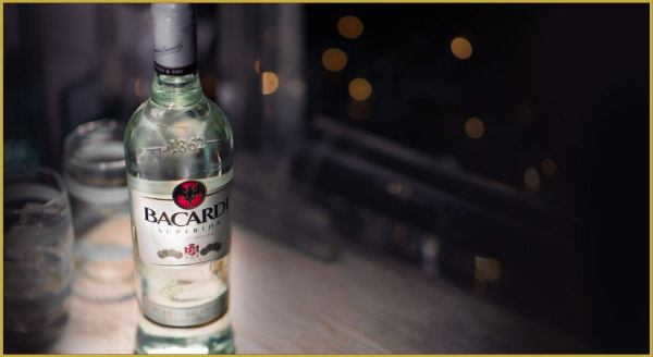 Bacardi at the party