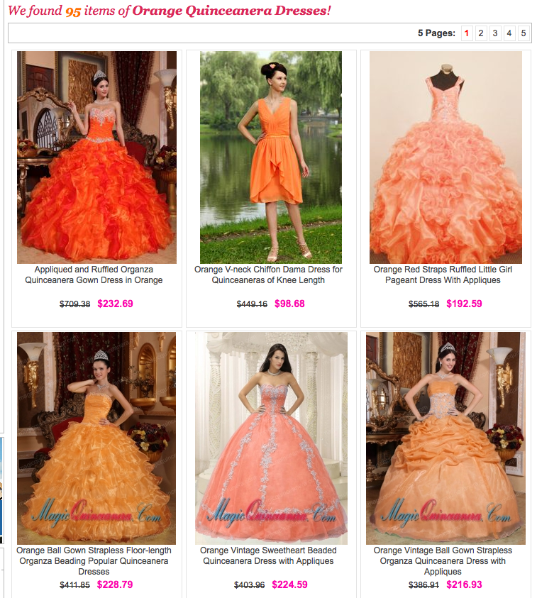 Magic Quinceanera Dresses