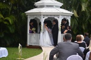 Gazebo Ceremony, Wedding Reception, Ciudamar, Grand Salon Ballroom at Killian Palms Country Club, Mini Reception, Grand Salon Reception Hall (55)