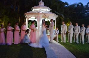Gazebo Ceremony Wedding Reception Ciudamar at Killian Palms Country Clun Miami (75)