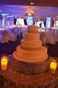Grand Salon Ballroom at Killian Palms Country Club Gazebo Ceremony Wedding Reception (51)