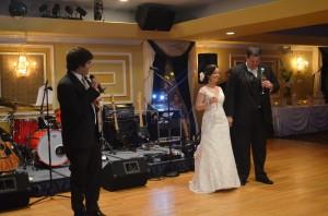 Grand Salon Ballroom at Killian Palms Country Club Gazebo Ceremony Wedding Reception (91)
