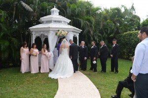 Raquel and Racheed Gazebo Ceremony and Weddign Reception Ciudamar at Killian Palms Country Club 11.15 (48)