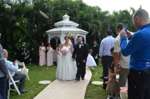 Raquel and Racheed Gazebo Ceremony and Weddign Reception Ciudamar at Killian Palms Country Club 11.15 (53)