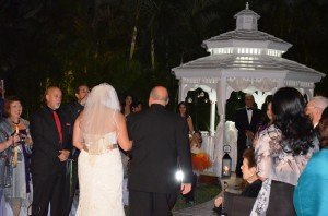 Gazebo Ceremony Grand Salon Ballroom at Killian Palms Country Club