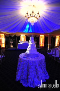 Fabiola and Alan Wedding Reception Grand Salon Ballroom at Killian Plams Country Club