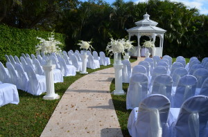 Grand Salon Recption Hall Gazebo Wedding Miami
