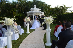 Grand Salon Recption Hall Gazebo Wedding Miami4