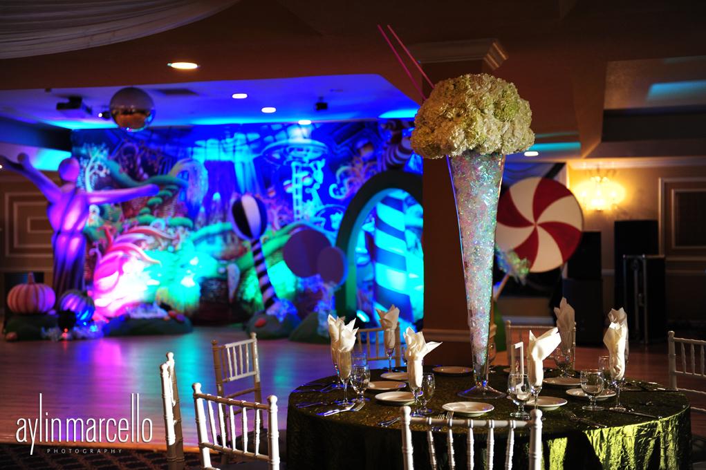 Kassie s 15th s birthday party grand salon ballroom at killian
