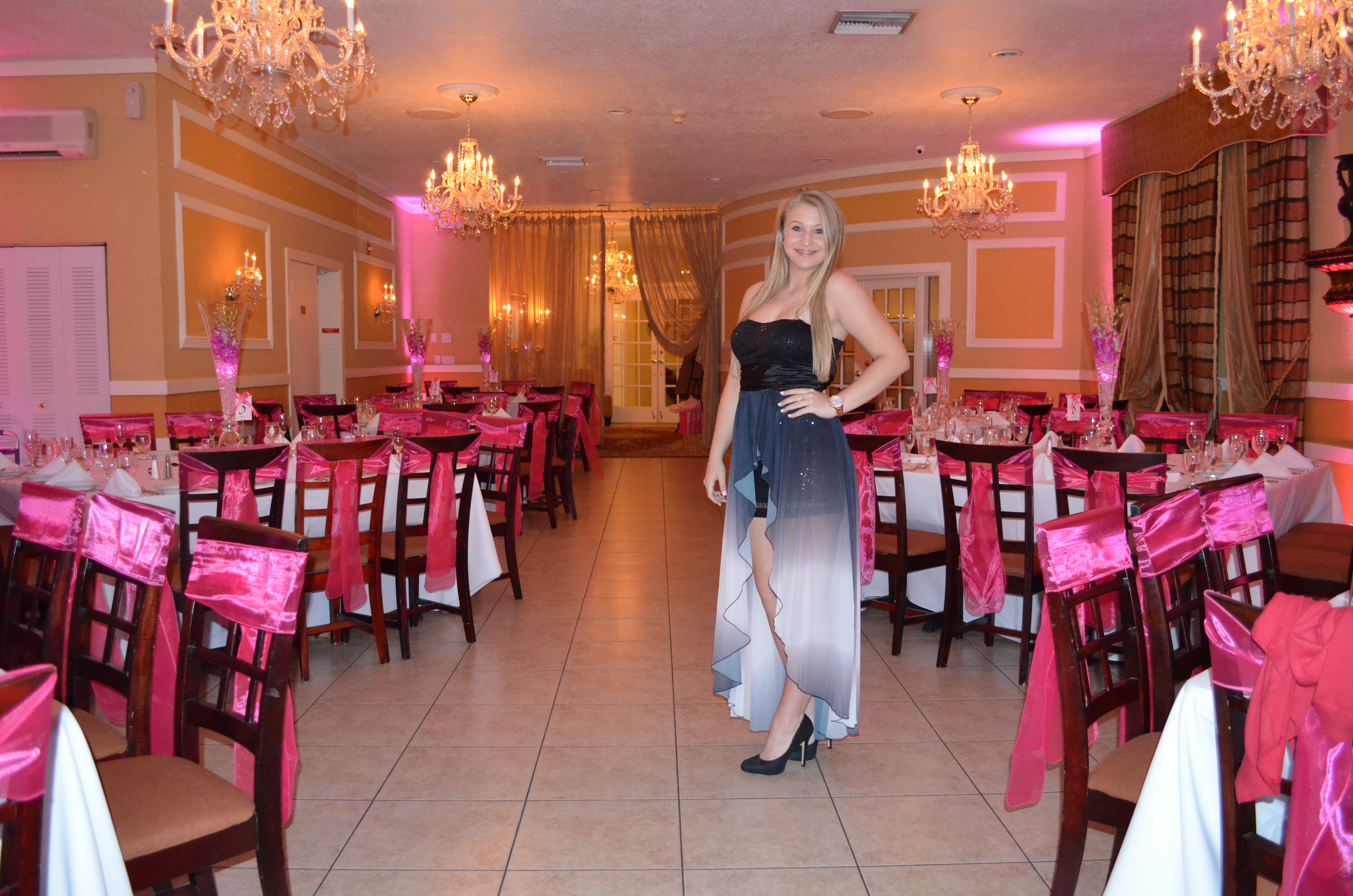 Banquet Halls In Miami Amanda S Sweet 16 Birthday