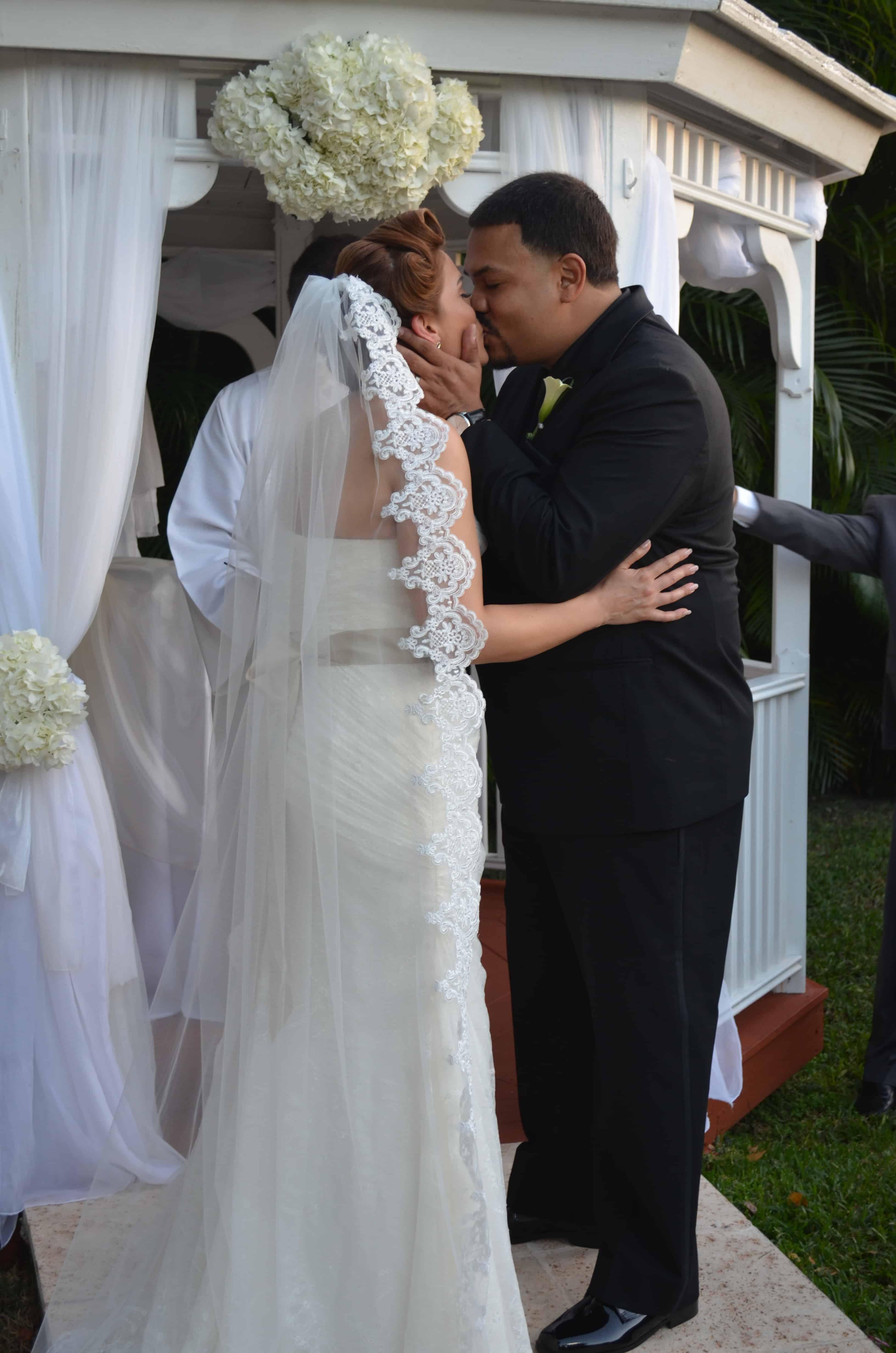 Stephanie & Michael Gazebo Ceremony And Wedding Reception