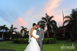 Grand Salon Ballroom at Killian Palms Country Club Gazebo Ceremony Wedding Reception 12