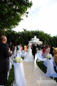 Grand Salon Ballroom at Killian Palms Country Club Gazebo Ceremony Wedding Reception 26