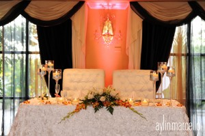 Grand Salon Ballroom at Killian Palms Country Club Gazebo Ceremony Wedding Reception 27