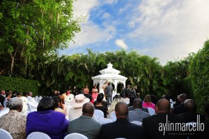 Grand Salon Ballroom at Killian Palms Country Club Gazebo Ceremony Wedding Reception 3
