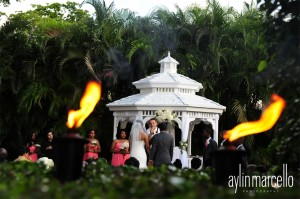 Grand Salon Ballroom at Killian Palms Country Club Gazebo Ceremony Wedding Reception 7