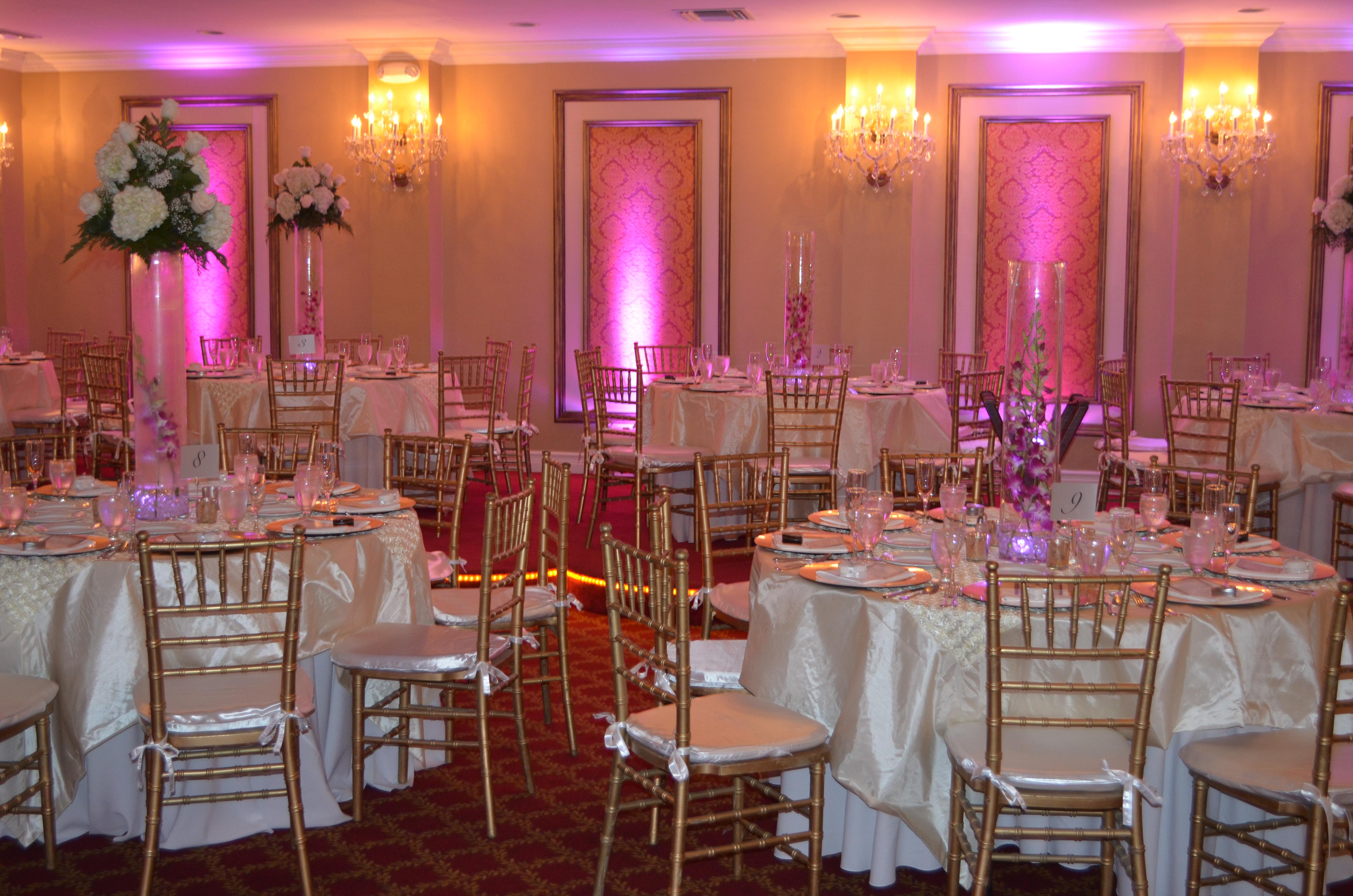 Reception Hall Wedding Ceremony