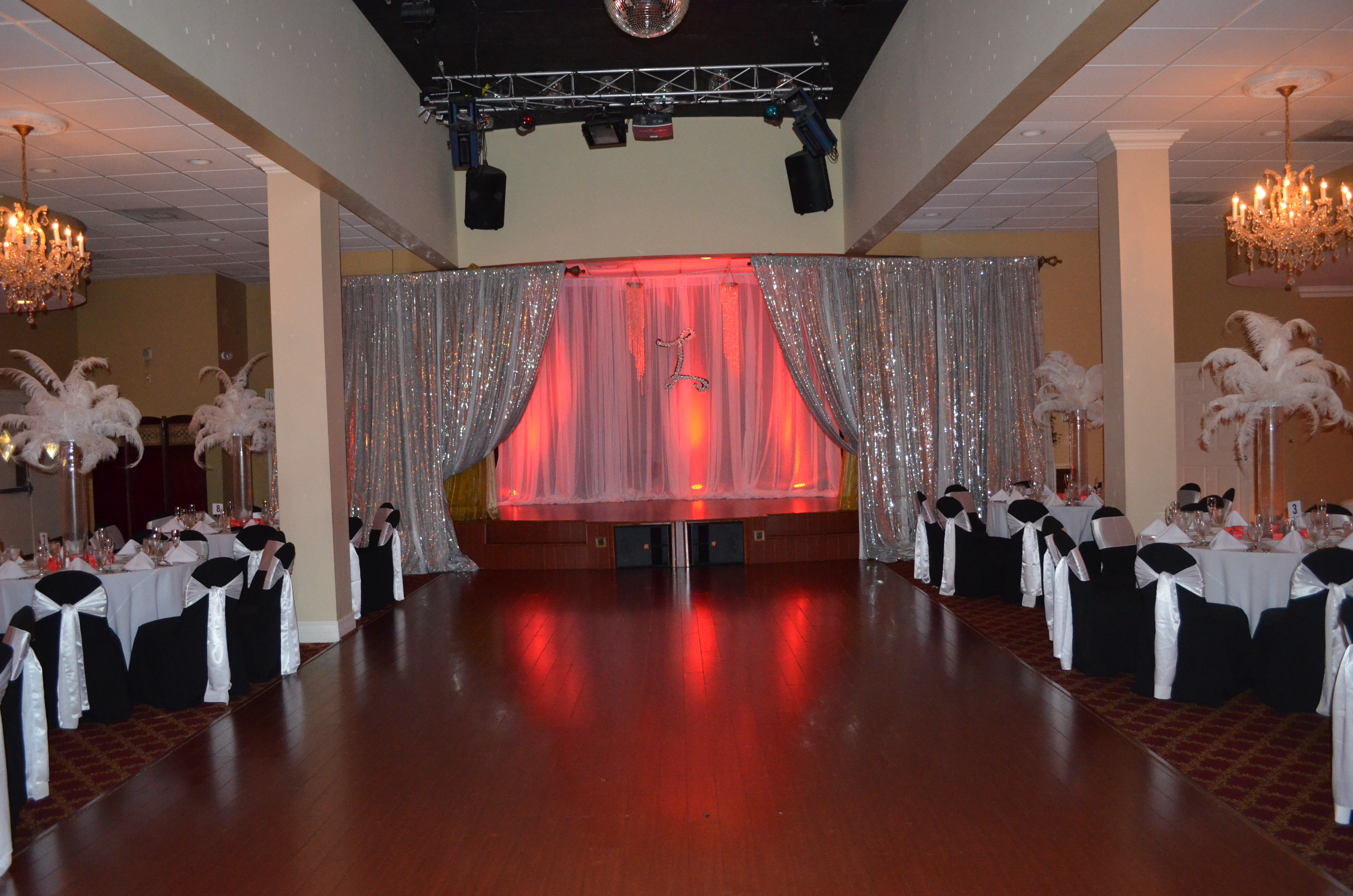 Wedding venues miami laurette 15th birthday party for 15th birthday party decoration ideas