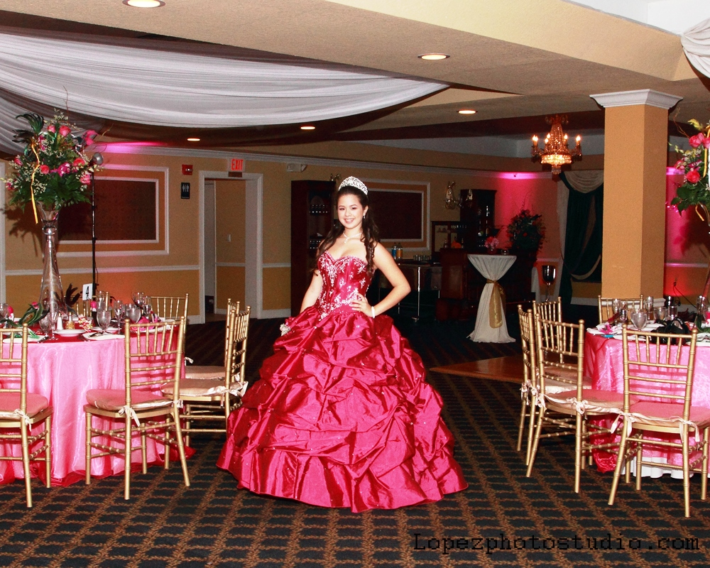 Nathalie 15th Birthday Party Grand Salon Ballroom At Killian Palms Country Club 4