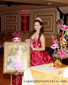 Nathalie  15th Birthday Party Grand Salon Ballroom at Killian Palms Country Club 6