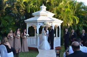 Gazebo Ceremony Wedding Reception Garnd Salon Reception Hall (25)