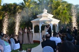 Gazebo Ceremony Wedding Reception Garnd Salon Reception Hall (26)