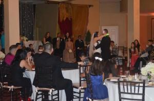 Gazebo Ceremony Wedding Reception Garnd Salon Reception Hall (29