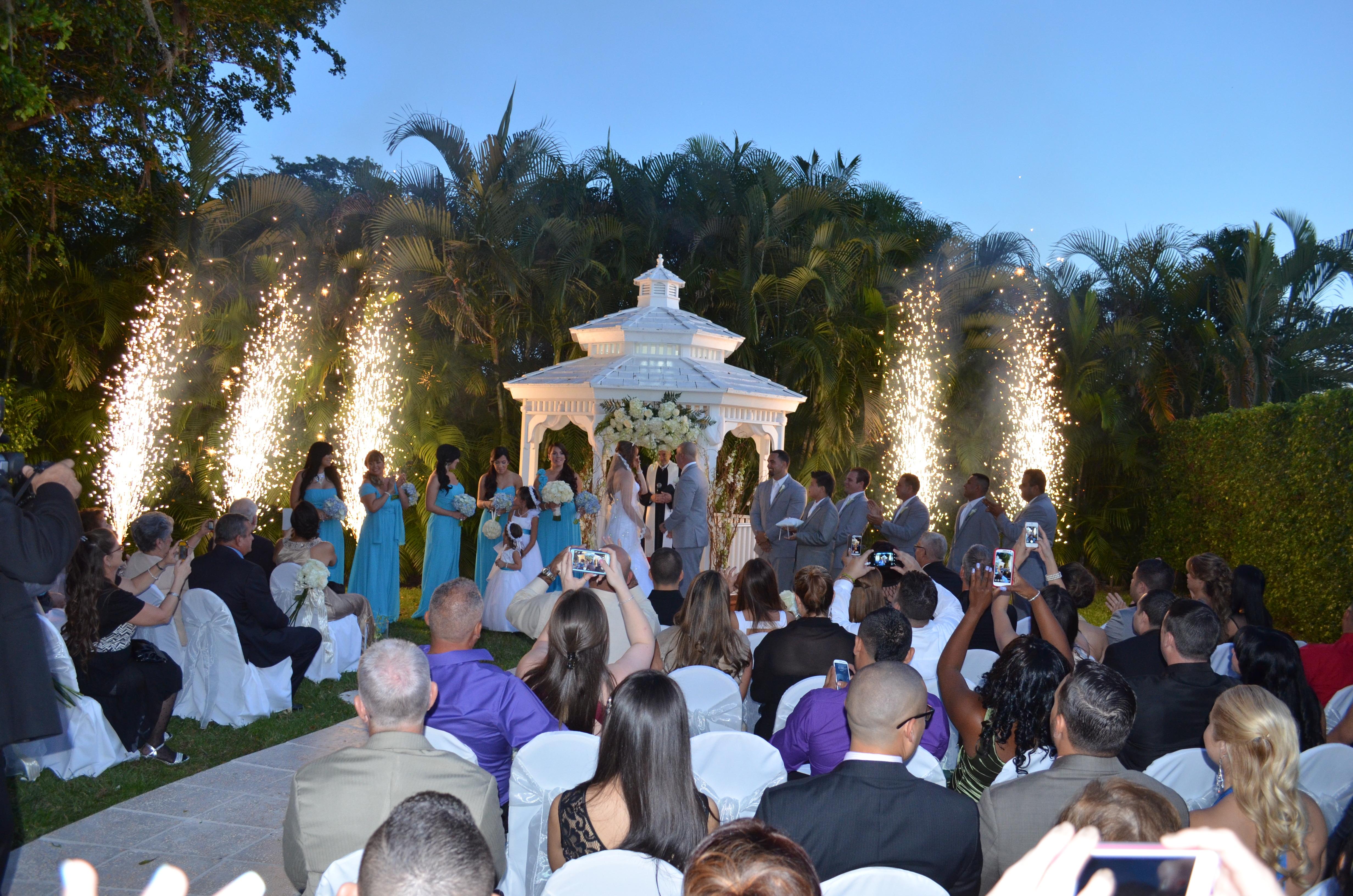 Yennis And Orlando Gazebo Ceremony And Wedding Reception