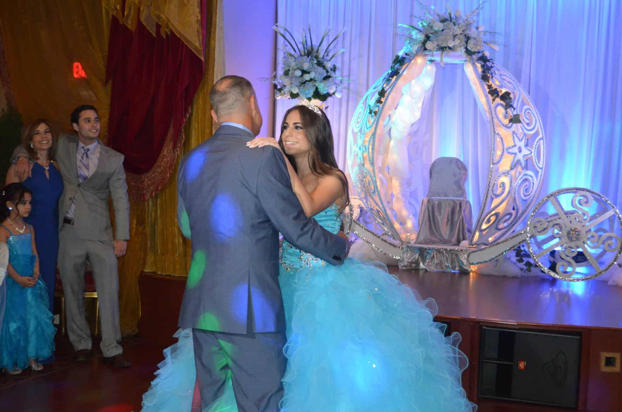 The Grand Foyer Party : Monica quinces at grand salon reception hall