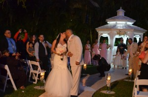 Gazebo Ceremony Wedding Reception Ciudamar at Killian Palms Country Clun Miami (83)