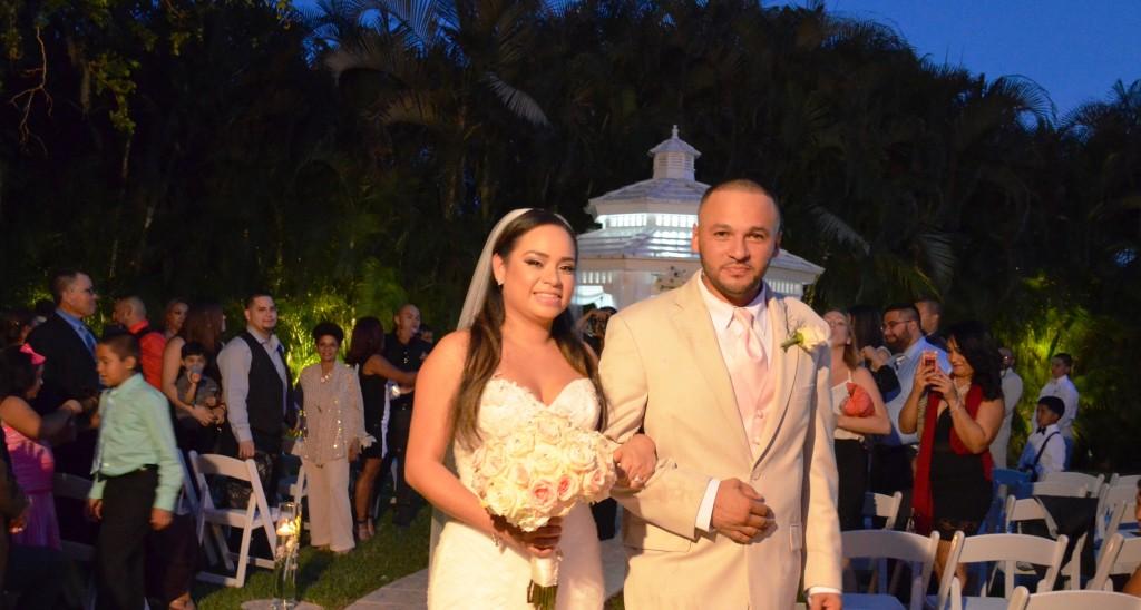 Karla & Oscar Gazebo Ceremony And Wedding Reception