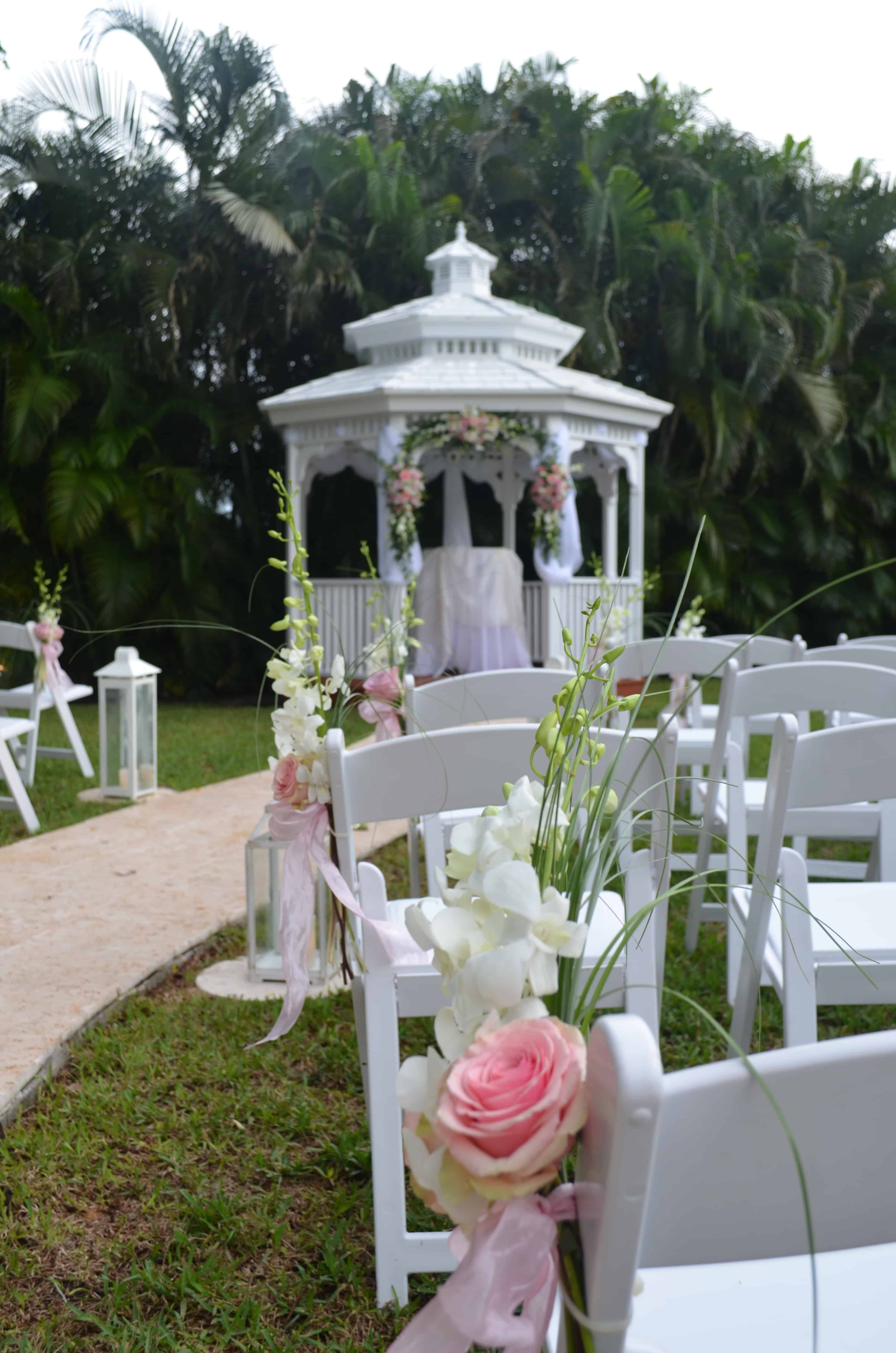 Michelle & Gabriel Gazebo Ceremony & Wedding Reception