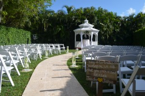 Grand Salon Ballroom at Killian Palms Country Club Gazebo Ceremony Wedding Reception (2)