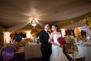 Kayleen & Chritstian Wedding Reception Grand Salo Ballroom at Killian Plams Country Club (98)