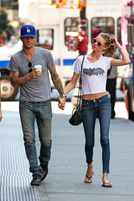 adam-levine-and-behati-street-style