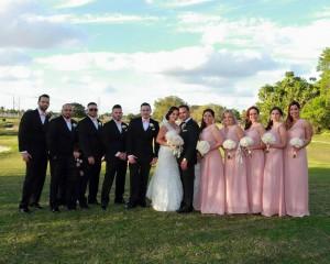 Grand Salon Ballroom at Killian Plams Country Club, Wedding Reception, Gazebo Ceremony (15)