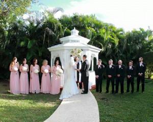 Grand Salon Ballroom at Killian Plams Country Club, Wedding Reception, Gazebo Ceremony (17)