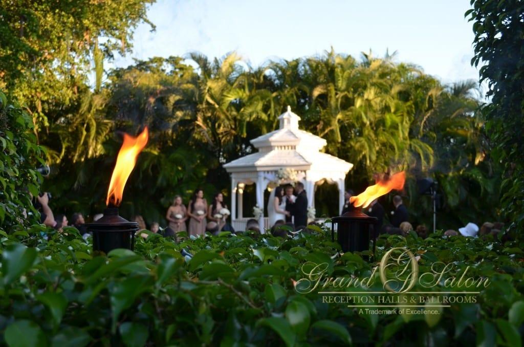 miami gazebo wedding