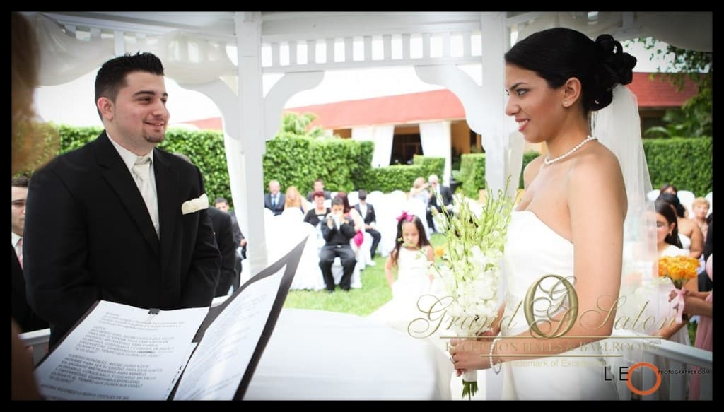 miami gazebo wedding